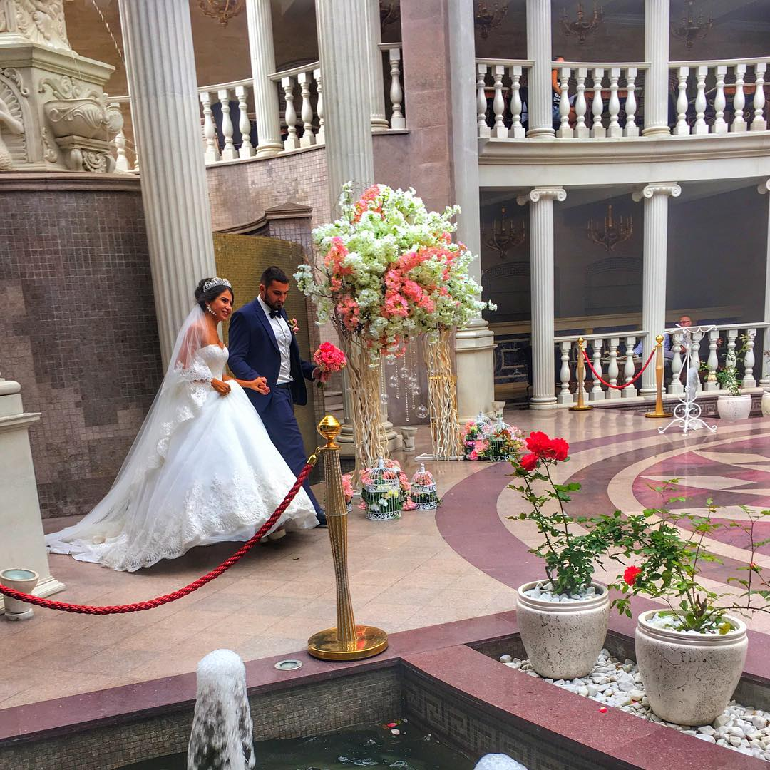 Wedding on the summer terrace of the Villa ArtE